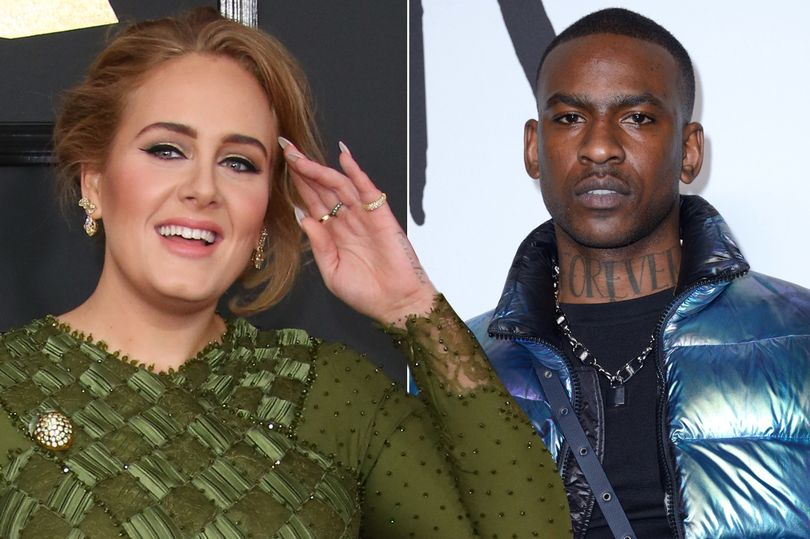 Adele takes romance with Skepta to next level as he 'meets her showbiz pals'.jpg